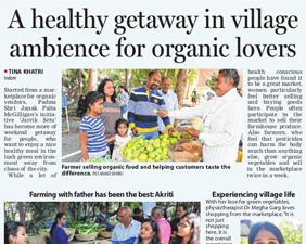 A Healthy Getaway in Village Ambience